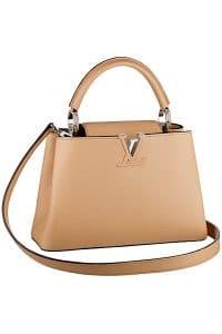 Louis Vuitton Beige Capucines BB Tote Bag - Fall 2014