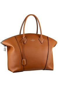 Louis Vuitton Camel New Lockit Tote Bag - Fall 2014