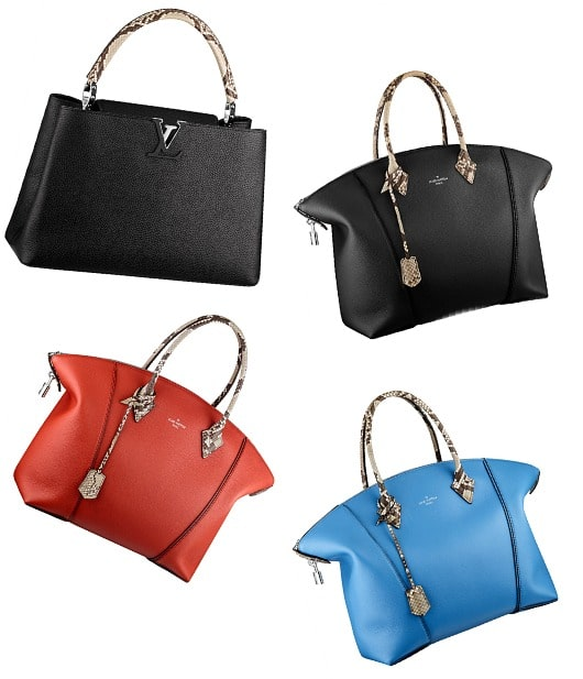 Louis Vuitton Capucines and Lockit Bag Colors for Fall