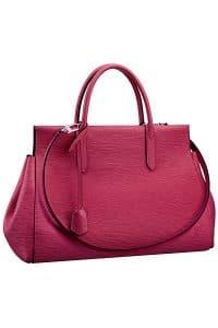 Louis Vuitton Fuchsia Marly MM Bag