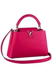 Louis Vuitton Fuchsia Capucine BB Tote Bag - Fall 2014