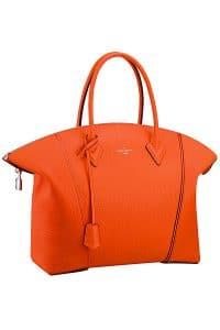 Louis Vuitton Orange New Lockit Tote Bag - Fall 2014