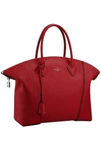 Louis Vuitton Red Coquelicot New Lockit Tote Bag - Fall 2014
