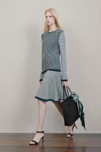 Mulberry Black Woven Tote Bag - Resort 2015