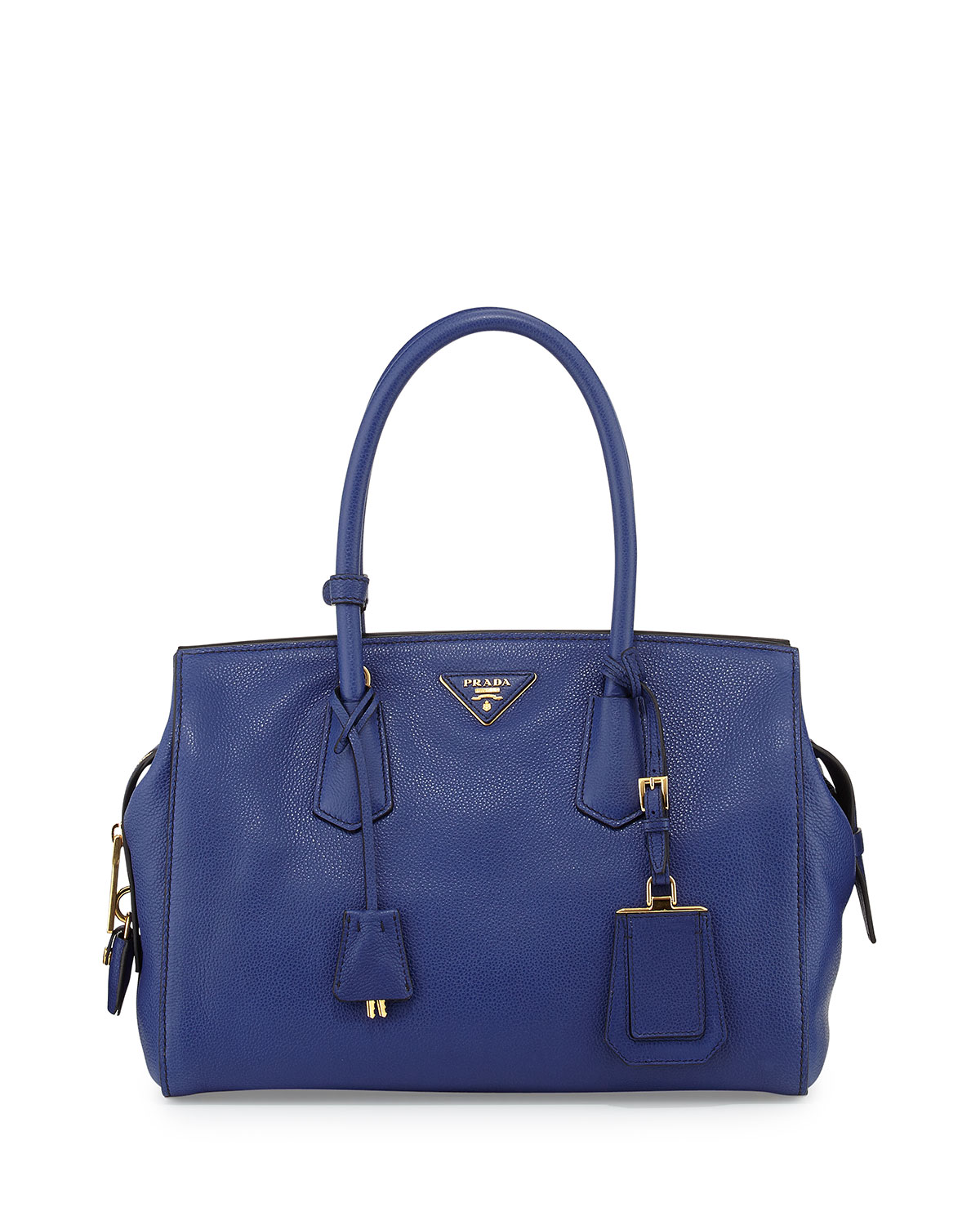 prada galleria bag ink blue
