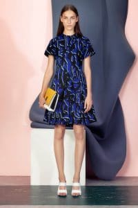 Proenza Schouler White/Yellow Elliot Clutch Bag 2 - Resort 2015