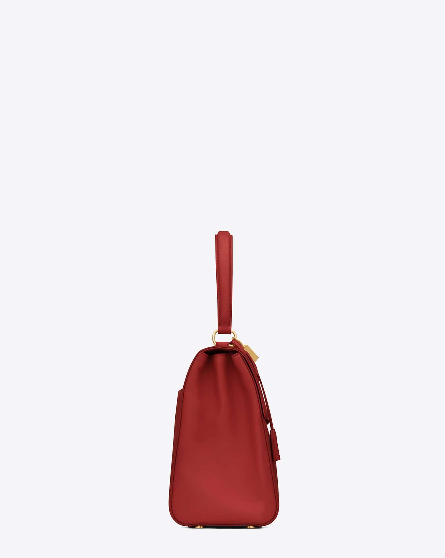 Saint Laurent Moujik Top Handle Bag Replaces the Muse Two Bag ... 918236ad5c51c