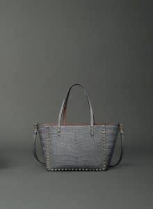 Valentino Croc Embossed Rockstud Bag - Fall 2014