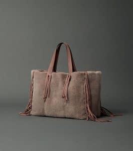 Valentino Mink Fringe Tote Bag - Fall 2014
