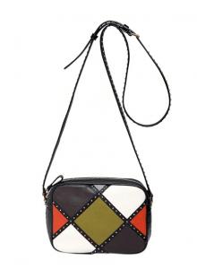 Valentino Multicolor Dotcom Arlecchino Shoulder Bag