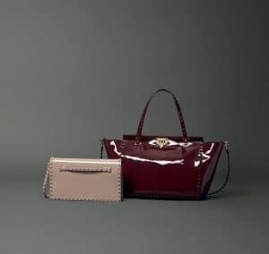 Valentino Patent Tote Bags - Fall 2014