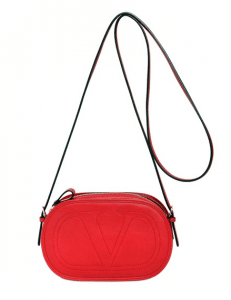 Valentino Red Go Valentino Shoulder Bag