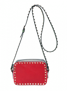 Valentino Red Rockstud Crossbody Bag