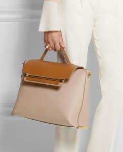 Chloe Clare Shoulder Bag with Top Handle