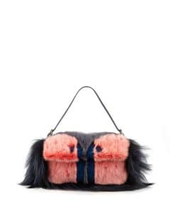 Fendi Bag Bug Pink Baguette - Fall 2014