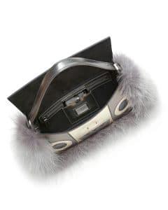 Fendi Silver Bag Bug Baguette - Fall 2014