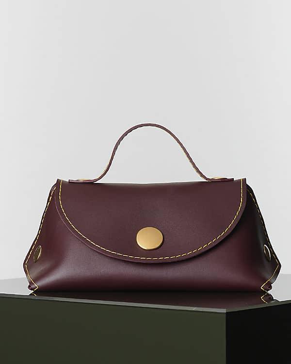 3ca13cddda celine burgundy leather clutch bag