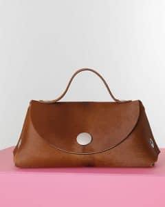 Celine Caramel Pony Orb Bag