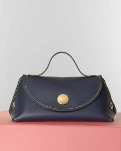 Celine Navy Blue Orb Bag