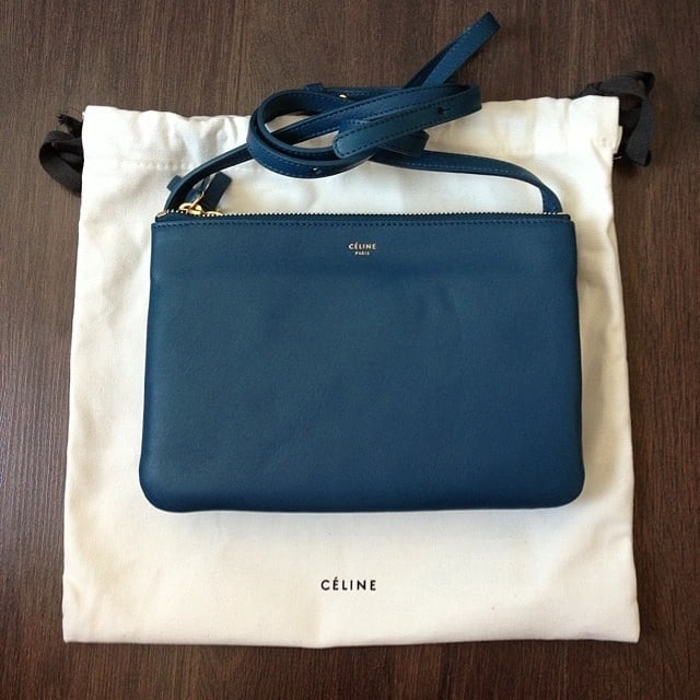 celine navy luggage