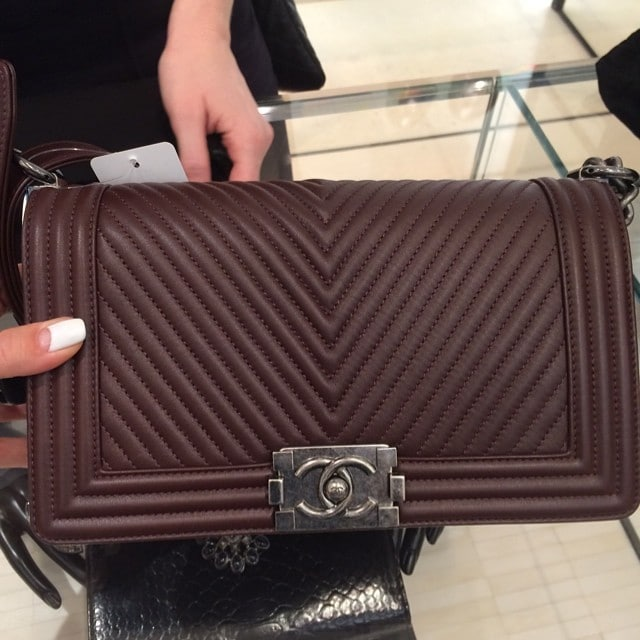 1466ad70a1d4 Chanel Boy Bags from the Fall   Winter 2014 Act 1 Collection ...
