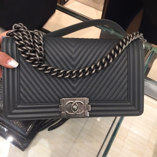chanel boy bags from the fall winter 2014 act 1