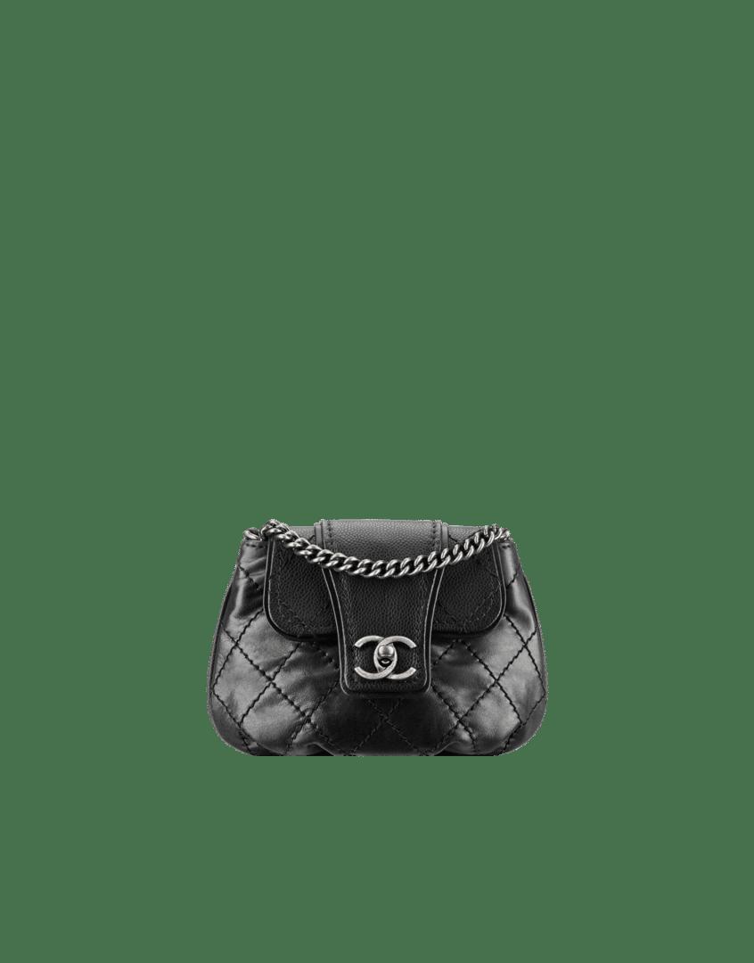 Chanel Messenger Handbag Chanel Mini Calfskin Messenger