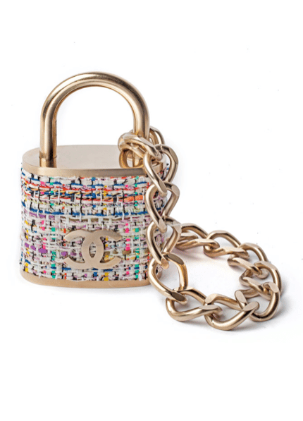 a43d1b2d23e5df Chanel Padlock Necklace from the Fall / Winter 2014 Runway | Spotted ...
