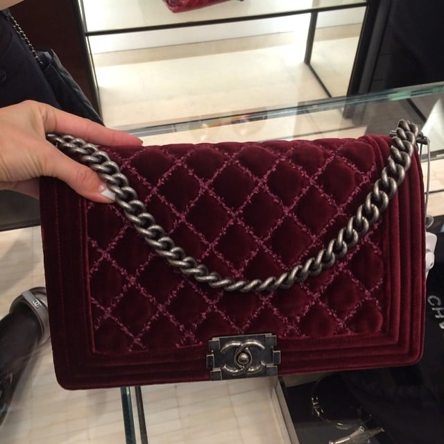 c962aa6477f Chanel Boy Bags from the Fall   Winter 2014 Act 1 Collection ...