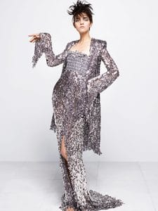 Chanel Silver Long Dress - Fall 2014 Haute Couture