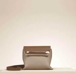 Chloe Rope Beige Clare Mini Shoulder Bag