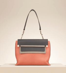 Chloe Star Red Clare Shoulder Bag