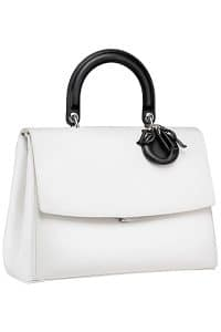Dior White/Black Be Dior Flap Bag