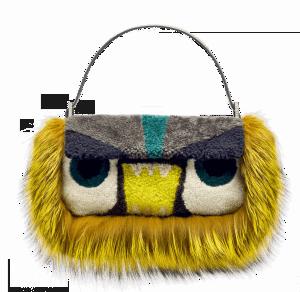 Fendi Yellow Bag Baguette - Fall 2014