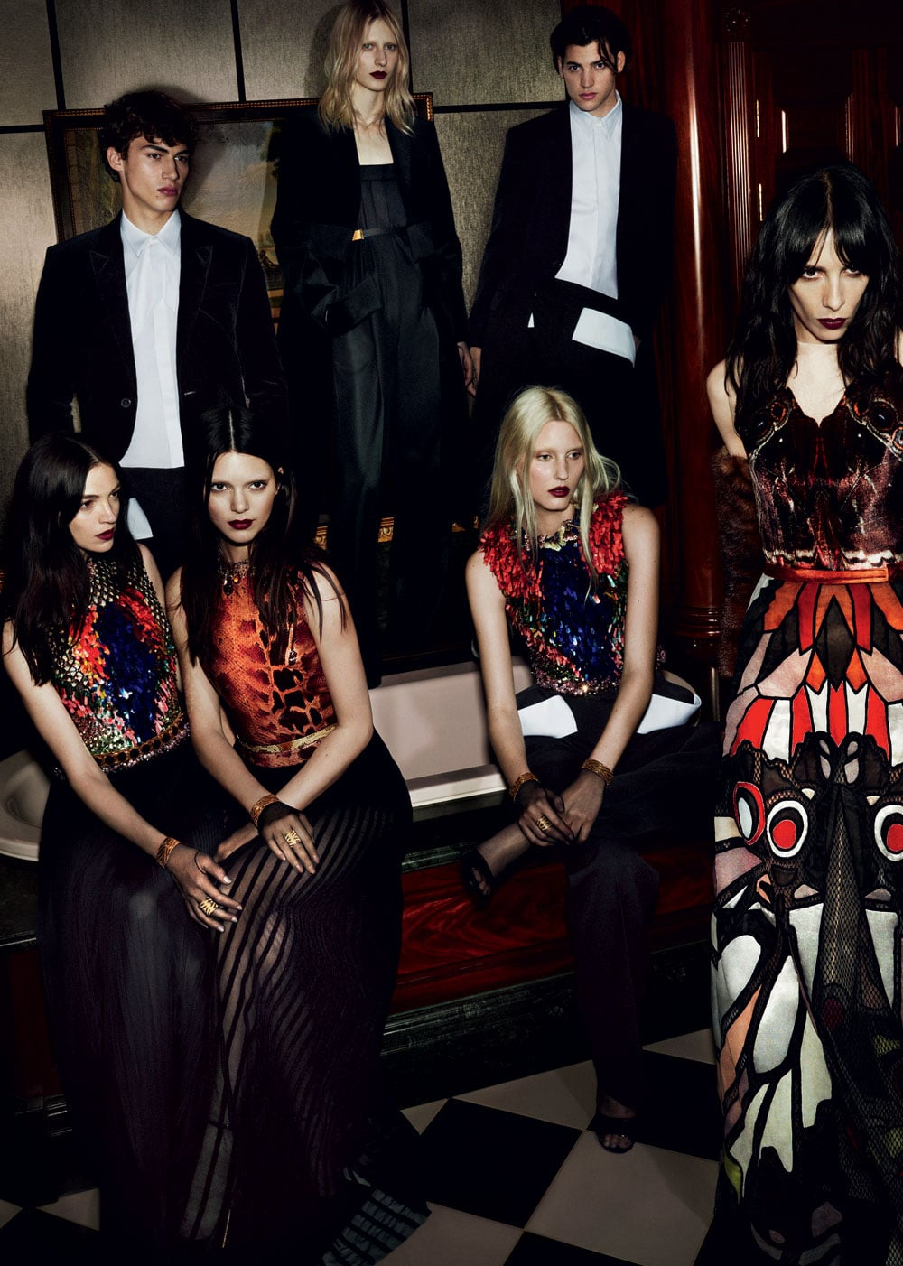 Givenchy Fall Winter 2014 Ad Campaign Featuring Isabelle