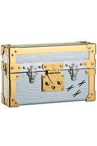 Louis Vuitton Argent Epi Petite-Malle Bag