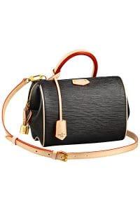 Louis Vuitton Black Epi Doc BB Bag