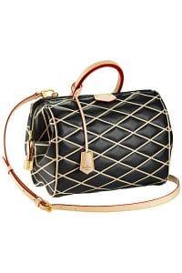 Louis Vuitton Black Malletage Doc PM Bag