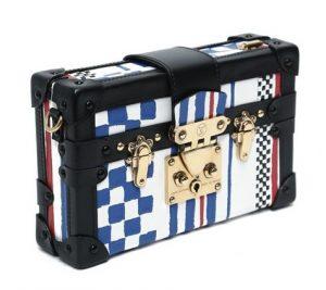 Louis Vuitton Grand Prix Cuir Embosse Petite Malle Bag