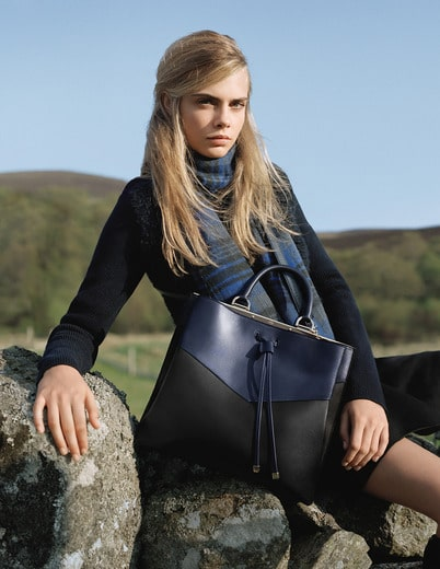 Mulberry Fall Winter 2014 Ad Campaign Features The