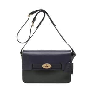 Mulberry Black/Midnight Blue:Evergreen Bayswater Shoulder Bag