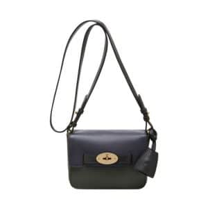Mulberry Black/Midnight Blue:Evergreen Bayswater Shoulder Small Bag