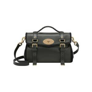 Mulberry Evergreen/Black Panel Alexa Bag