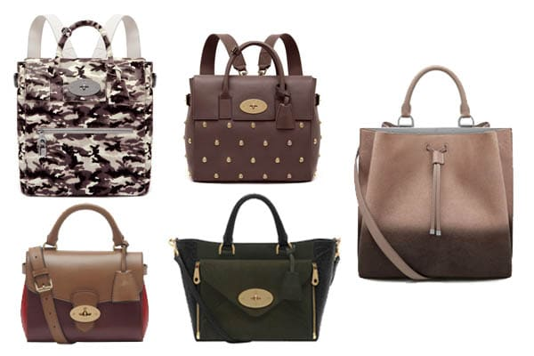 1b4c4bb2d76 Mulberry Fall   Winter 2014 Bag Collection   Spotted Fashion