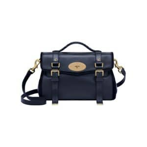 Mulberry Midnight Blue:Black Panel Alexa Bag