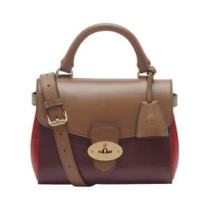 4002eae459 Mulberry Oxblood Mixed Materials Primrose Small Bag - Fall 2014