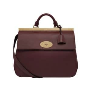 Mulberry Oxblood Suffolk Bag