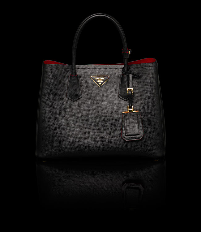 prada handbags usa sale - Prada Double Tote Bag Reference Guide | Spotted Fashion