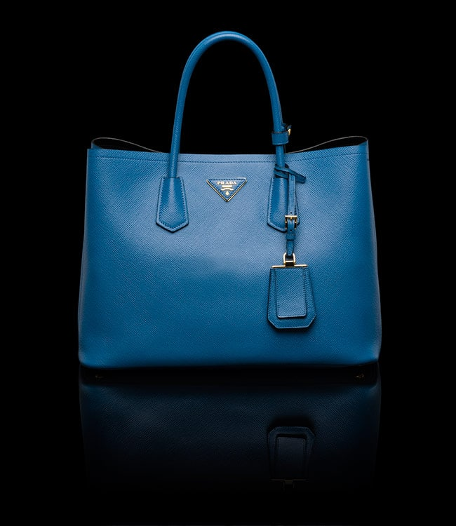 8bf242a205f ... cheap prada cobalt blue double tote medium bag f73f0 0a05f