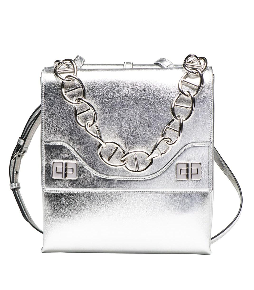 parda handbags - prada silver bag